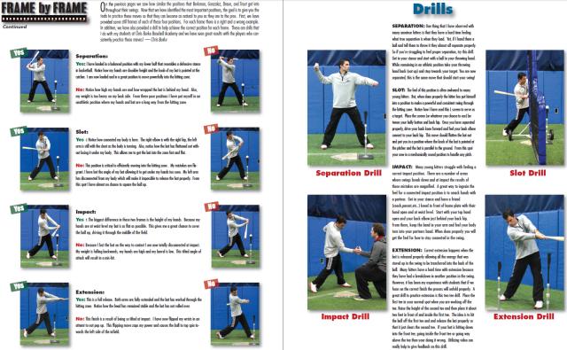 hitting positions drills