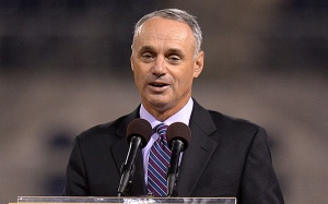 Rob Manfred (Jake Roth-USA TODAY Sports)