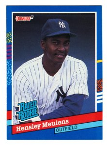 Former top prospect in New York Yankees organization Named Carolina League Player of the Year (Baseball America, 1987) Led triple-A International League in home runs and RBI (26, 100) in 1992