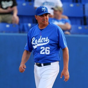 Middle Tennessee State head coach Jim McGuire
