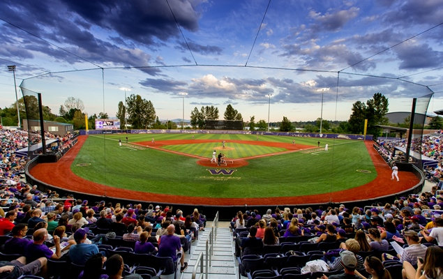 University of Washington's Husky Ballpark (photo courtesy University of Washington athletics)